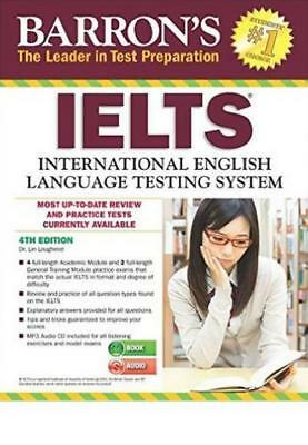 Barron's IELTS with MP3 CD, 4th Edition Paperback – Apr 1 2016