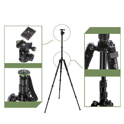 FOTGA Tripod Monopod with Ball Head Stand Holder Travel for Camera Video Photo