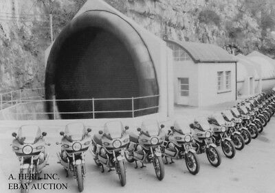 Moto Guzzi SP 1000 factory wind tunnel testing publicity motorcycle photo press