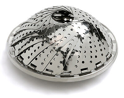 """Norpro New Stainless Steel Durable Vegetable Steamer 5.5"""" / 14cm To 9.5"""" / 24cm"""