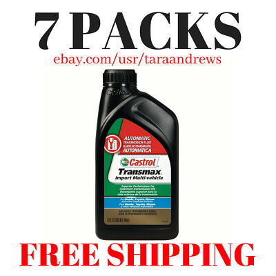 CASTROL TRANSMAX IMPORT Multi-Vehicle Automatic Transmission Fluid