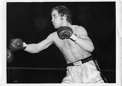 BERNIE TERRELL 8x6in original BOXING press photo 13th Jan 1972