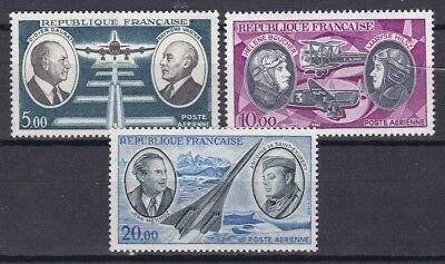 France Aviation High Values (16) Mint Never Hinged