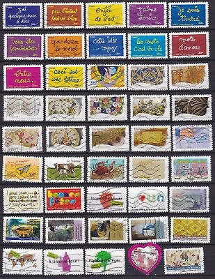 France  Commemoratives (21) Used