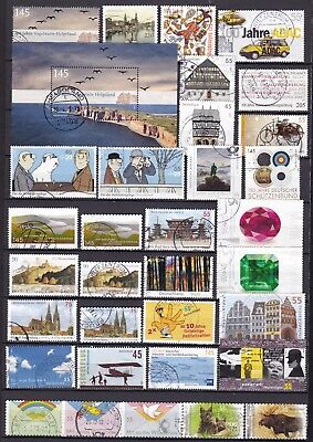Germany Commemoratives Inc S/s (22) Used