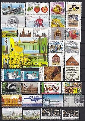 Germany Commemoratives Inc S/s (23) Used
