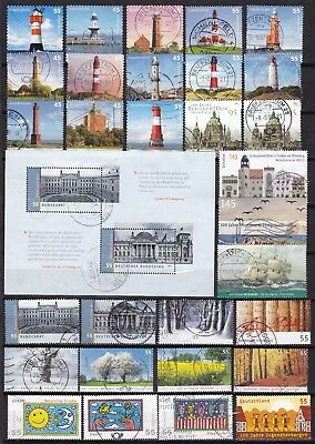 Germany Commemoratives Inc S/s (25) Used
