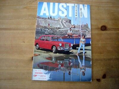 Austin Magazine, Oct 1965, very rare factory-issued mag, very good condition