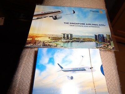 Singapore Airlines Playing Cards And Post Card