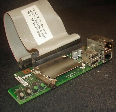 Cisco 2851 2811 2800 Router RJ-45 USB CF Front Panel Board w/ Cable 73-8481-04