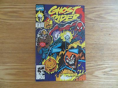 1991 Marvel Ghost Rider # 16 Spider-Man Signed Mark 'tex' Texeira Art, With Poa