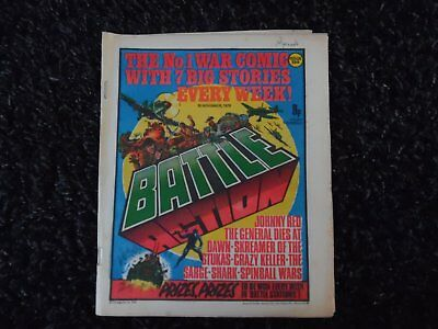 Battle Action Comic November 18Th 1978