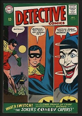 Detective Comics #341  Very Glossy Cents Nice Pages Classic Joker Cover