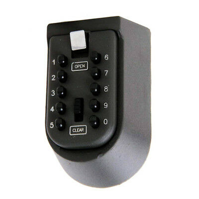 OUTDOOR SECURITY WALL MOUNTED KEY SAFE BOX CODE SAFER LOCK STORAGE 10 Digit UK