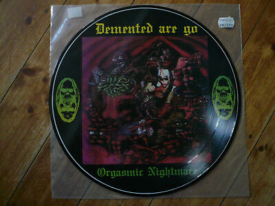 Demented are go - orgasmic nightmare - picture disc LP