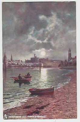 Friar's Shott, Inverness: Vintage 'Oilette' PPC by F.W .Hayes, GVG Used 1906.