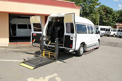 Ford H-Cap 2 Pos. VERY NICE HANDICAP ACCESSIBLE WHEELCHAIR LIFT EQUIPPED VAN....UNIT# 2208FT