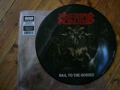 Kreator - hail to the hordes - picture disc LP 2017 Nuclear Blast