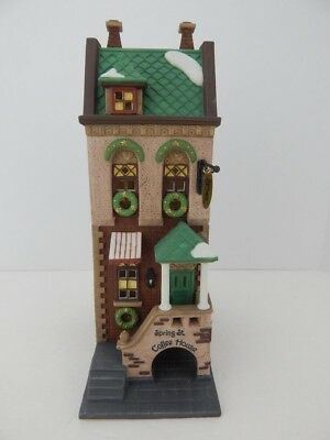 Dept 56 CIC ~ Spring St. Coffee House ~ Mint In Box 58807