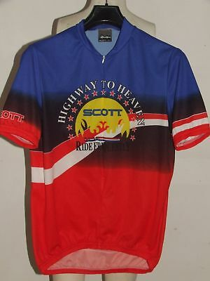 SCOTT USA BIKE CYCLE CYCLING JERSEY - Size XL - £8.95  f45f2caa6