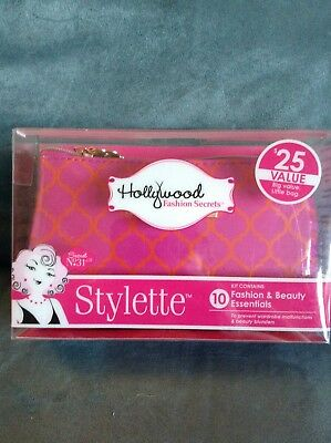 Hollywood Stylette Kit With Fashion & Beauty Essentials - Tape, Lint Sheets, Etc