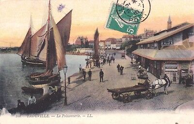 Trouville  La Poissonnerie  907