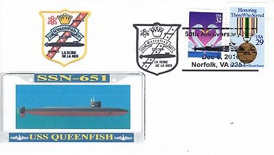 USA  Queenfish SSN - 651  50th Anniversary