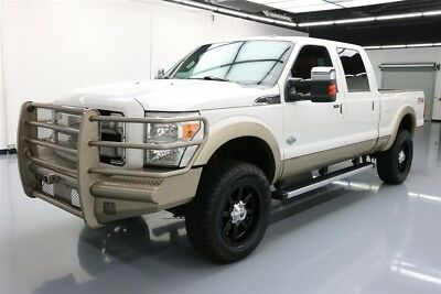 Ford F-250 4x4 King Ranch 4dr Crew Cab 6.8 ft. SB Pickup Texas Direct Auto 2014 4x4 King Ranch 4dr Crew Cab 6.8 ft. SB Pickup Used Turbo