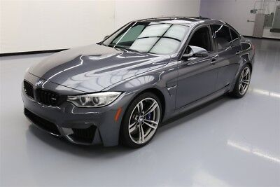 BMW M3  Texas Direct Auto 2015 Used Turbo 3L I6 24V Automatic RWD Sedan Premium