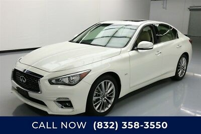 Infiniti Q50 3.0t LUXE Texas Direct Auto 2018 3.0t LUXE Used Turbo 3L V6 24V Automatic RWD Sedan