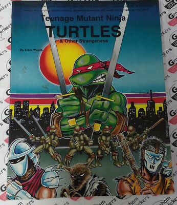 Teenage Mutant Ninja Turtles and other strangeness RPG core rule book 5th print