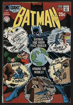 Batman #223. Original Owner Copy. Bright And Glossy. White Pages.