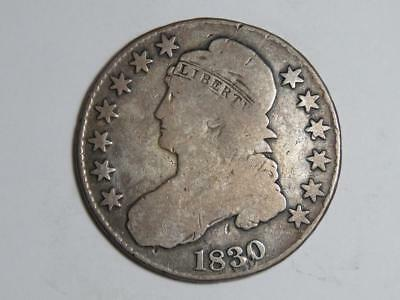 1830 Capped Bust Half Dollar - Large 0