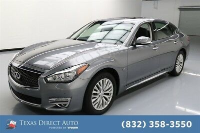 Infiniti Q70 3.7 Texas Direct Auto 2015 3.7 Used 3.7L V6 24V Automatic RWD Sedan Premium