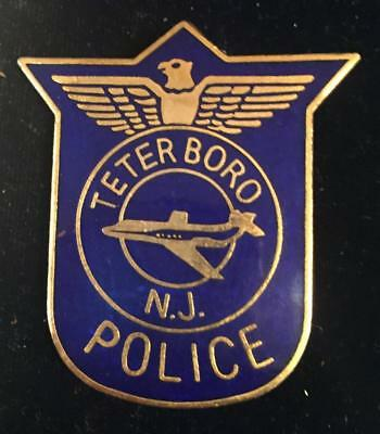 Teterboro New Jersey Police Hat  Shield Free ship