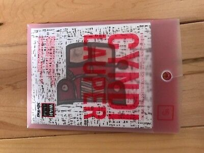 Cyndi Lauper paper Wallet Signed Last One
