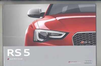 2012 Audi US RS5 Coupe Hardcover Book wz5894
