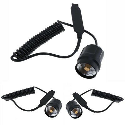 Metal LED Flashlight Remote For C8 Pressure Switch Torch Parts Extension Cord