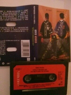 Kris Kross - Totally Krossed Out - MC - Musikkassette - Tape - Cassette