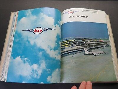 1/1961-12/1952 / 12 Bound Esso Air World - Excellent Airline & Military Coverage