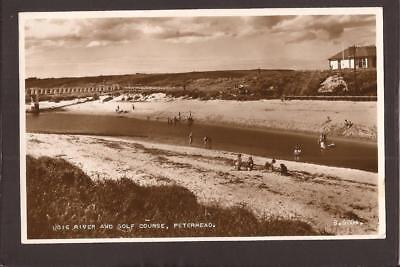 Peterhead. Ugie River and Golf Course. RP.