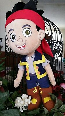 """Disney Captain Jake and the Never Land Pirates 15"""" plush stuffed character doll"""