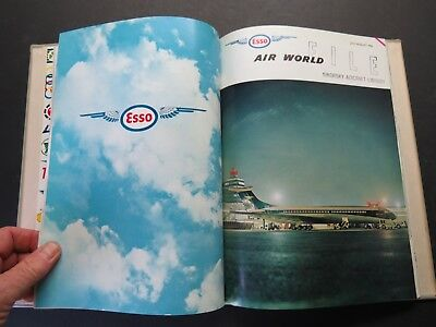1/1965-12/1965 / 6 Bound Esso Air World - Excellent Airline & Military Coverage
