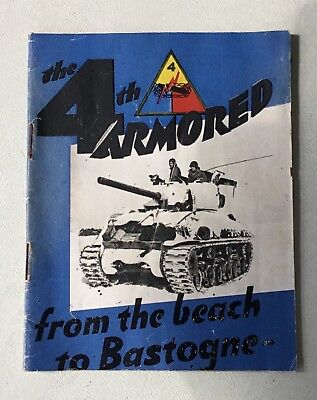 The 4th Armored from the Beach to Bastogne  G.I. Series History