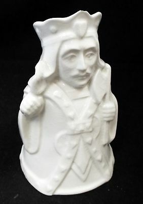Unpainted PACK OF CARDS SERIES Porcelain Jug By H J WOOD King of Hearts - C53