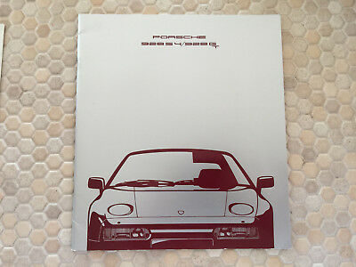 Porsche 928 S4 928 Gt Prestige Showroom Sales Brochure 1990 Usa Edition.