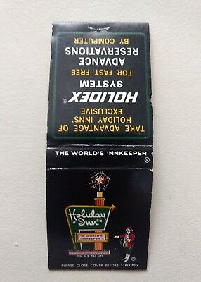 Vintage Matchbook HOLIDAY INN Indianapolis, Indiana 20 Match Full
