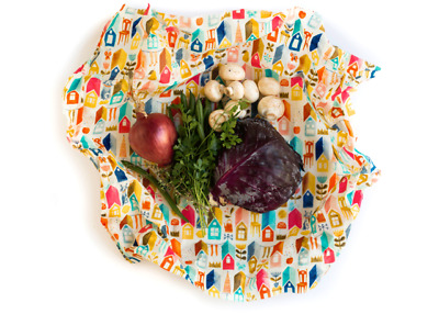 Eco Food Wraps Single Extra Large Wrap - Beeswax - Reusable Wraps - BEST QUALITY