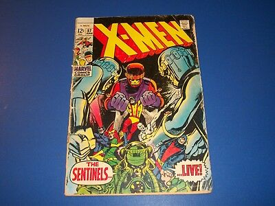 Uncanny X-men #57 Silver Age Neal Adams Sentinels