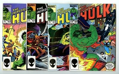 Incredible Hulk #300,301,302,303 Avg NM New Marvel Bronze Copper Collection